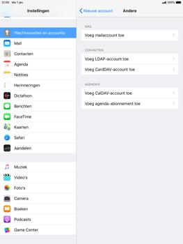 Apple iPad Mini 4 - iOS 12 - E-mail - e-mail instellen: POP3 - Stap 6