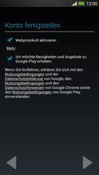 HTC One - Apps - Einrichten des App Stores - Schritt 12