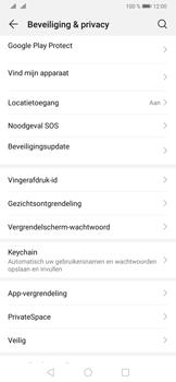 Huawei P30 Pro - Beveiliging - stel in of wijzig pincode voor je toestel - Stap 4