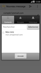 Bouygues Telecom Ultym 5 II - E-mails - Envoyer un e-mail - Étape 6