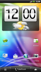 HTC X515m EVO 3D - Internet - Internetten - Stap 1