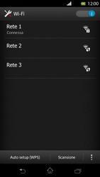 Sony Xperia T - WiFi - Configurazione WiFi - Fase 8