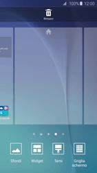 Samsung Galaxy S6 Edge - Operazioni iniziali - Installazione di widget e applicazioni nella schermata iniziale - Fase 4