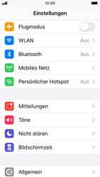 Apple iPhone SE - iOS 13 - Startanleitung - So aktivieren Sie eine SIM-PIN - Schritt 3