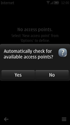 Nokia 700 - Internet - Manual configuration - Step 9