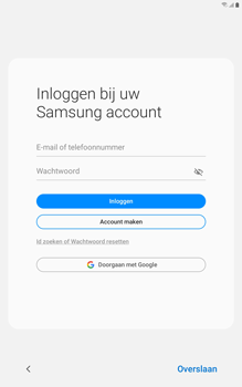 Samsung galaxy-tab-a-8-0-lte-2019-sm-t295 - Instellingen aanpassen - Nieuw toestel instellen - Stap 24