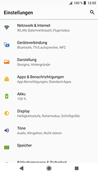 Sony Xperia XZ2 Premium - Netzwerk - Netzwerkeinstellungen ändern - Schritt 4
