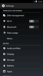 Wiko jimmy - WiFi - WiFi configuration - Step 4
