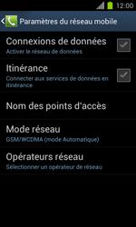 Samsung Galaxy S II - Réseau - Sélection manuelle du réseau - Étape 11
