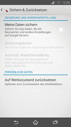 Sony Xperia Z3 Compact - Fehlerbehebung - Handy zurücksetzen - 7 / 11