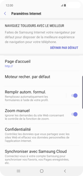 Samsung Galaxy S10 Plus - Internet et roaming de données - Configuration manuelle - Étape 28