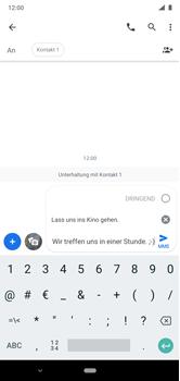 Nokia 6.1 Plus - Android Pie - MMS - Erstellen und senden - Schritt 13