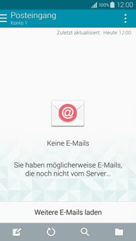 Samsung Galaxy Note 4 - E-Mail - Manuelle Konfiguration - Schritt 4