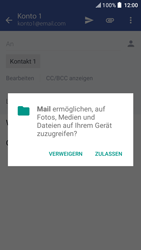 HTC One A9s - E-Mail - E-Mail versenden - 1 / 1