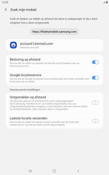 Samsung galaxy-tab-a-8-0-lte-2019-sm-t295 - Beveiliging en ouderlijk toezicht - Zoek mijn mobiel inschakelen - Stap 8