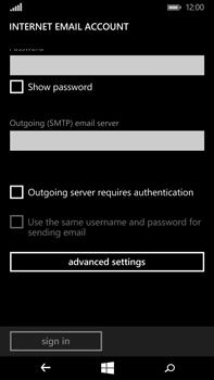 Microsoft Lumia 640 XL - Email - Manual configuration IMAP without SMTP verification - Step 15