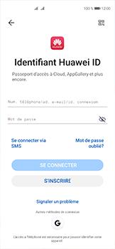 Huawei P40 - Applications - Créer un compte - Étape 8