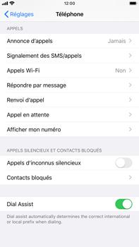 Apple iPhone 8 Plus - iOS 13 - WiFi - Activez WiFi Calling - Étape 5