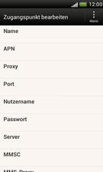 HTC Desire X - Internet - Manuelle Konfiguration - 10 / 23