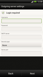 HTC Z520e One S - Email - Manual configuration POP3 with SMTP verification - Step 13