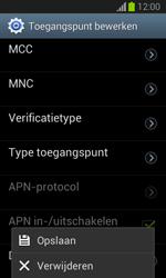 Samsung S7390 Galaxy Trend Lite - Internet - handmatig instellen - Stap 18
