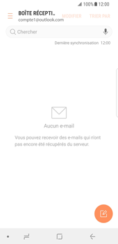Samsung Galaxy S8 - Android Oreo - E-mail - Configuration manuelle (outlook) - Étape 12