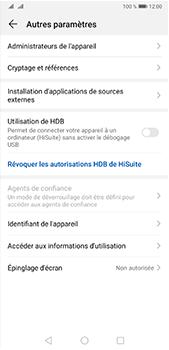 Huawei P20 Pro - Android Pie - Prise en main - Comment activer un code SIM - Étape 5
