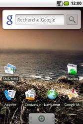 Samsung I7500 Galaxy - E-mail - envoyer un e-mail - Étape 1