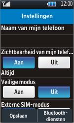Samsung S5620 Monte - bluetooth - aanzetten - stap 6