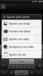 Sony LT22i Xperia P - MMS - envoi d'images - Étape 12