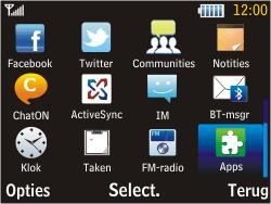 Samsung S3570 Chat 357 - wifi - handmatig instellen - stap 3