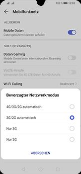 Huawei P30 Lite - Netzwerk - So aktivieren Sie eine 4G-Verbindung - Schritt 6