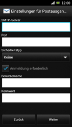 Sony Ericsson Xperia Ray mit OS 4 ICS - E-Mail - Konto einrichten - 1 / 1