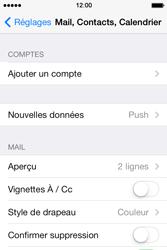 Apple iPhone 4 S iOS 7 - E-mail - Configuration manuelle - Étape 5