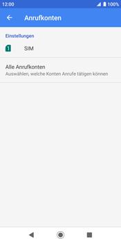 Sony Xperia XZ2 - Android Pie - Anrufe - Rufumleitungen setzen und löschen - Schritt 7