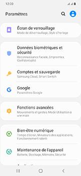 Samsung Galaxy A20e - Sécuriser votre mobile - Activer le code de verrouillage - Étape 4