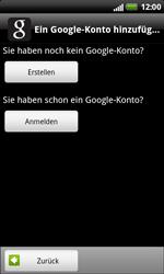 HTC Sensation XL - Apps - Konto anlegen und einrichten - 5 / 18