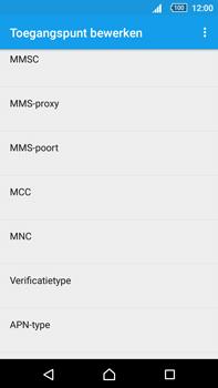 Sony E6853 Xperia Z5 Premium - MMS - handmatig instellen - Stap 12