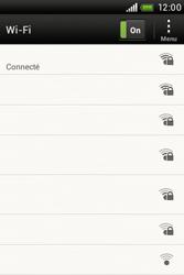 HTC A320e Desire C - Wifi - configuration manuelle - Étape 7