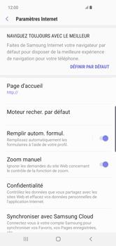 Samsung Galaxy S10 Plus - Internet et roaming de données - Configuration manuelle - Étape 25