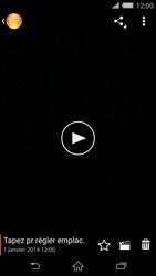 Sony Xperia Z2 - Photos, vidéos, musique - Créer une vidéo - Étape 11