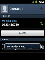 Samsung S5360 Galaxy Y - contacten, foto
