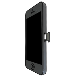 Apple iPhone 5 - SIM-Karte - Einlegen - 3 / 9