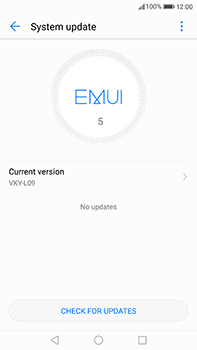 Huawei P10 Plus - Software - Installing software updates - Step 5
