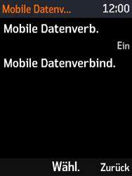 Nokia 3310 - Ausland - Im Ausland surfen – Datenroaming - Schritt 8