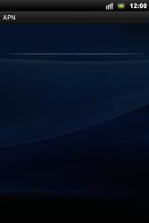Sony Xperia Mini Pro - MMS - Configuration manuelle - Étape 7