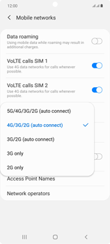 Samsung Galaxy Note 20 5G - Network - How to enable 5G network connection - Step 7