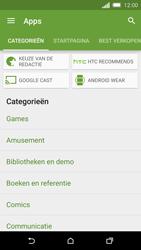 HTC One M8s - apps - app store gebruiken - stap 6