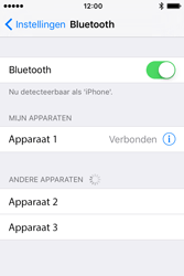Apple iPhone 4S (iOS 9) - bluetooth - headset, carkit verbinding - stap 6