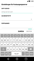LG X Power - E-Mail - Konto einrichten - 12 / 19